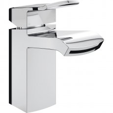 Bristan Descent Mono Basin Mixer Tap Deck Mounted with Clicker Waste - Chrome