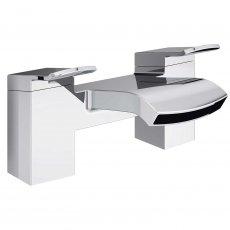 Bristan Descent Bath Filler Tap, Deck Mounted, Chrome