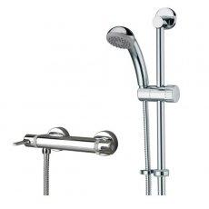 Bristan Design Utility Lever FastFit Bar Mixer Shower with Shower Kit