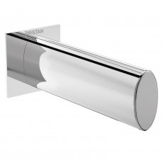 Bristan Flute Bath Spout, Wall Mounted, Chrome