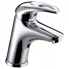 Bristan Java Basin Mixer Tap with Clicker Waste - Chrome Plated