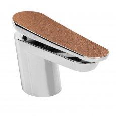 Bristan Metallix Claret 1 Hole Bath Filler Tap - Copper Radiance