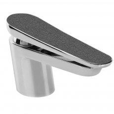 Bristan Metallix Claret Basin Mixer Tap - Graphite Glisten