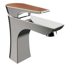 Bristan Metallix Hourglass 1 Hole Bath Filler Tap - Copper Radiance