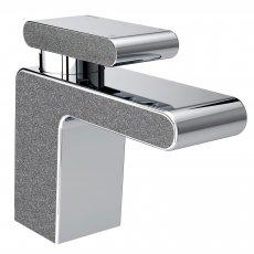 Bristan Metallix Pivot 1 Hole Bath Filler Tap - Graphite Glisten