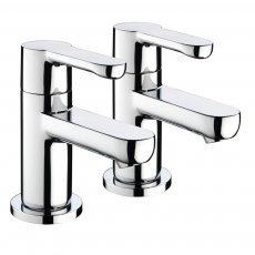 Bristan Nero Modern Chrome Bath Taps