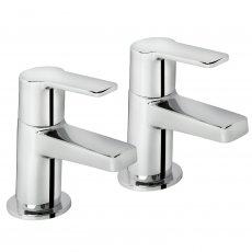 Bristan Pisa Bath Taps Pair - Chrome