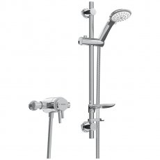 Bristan Prism Dual Exposed Mixer Shower with Shower Kit