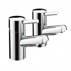 Bristan Prism Bath Taps - Chrome Plated