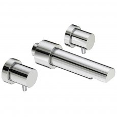 Bristan Prism 3 Hole Wall Mounted Bath Filler Tap