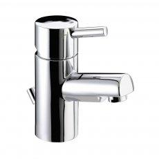 Bristan Prism Small Basin Mixer Tap with Pop Up Waste - Chrome Plated