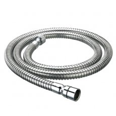 Bristan Cone-to-Nut PVC Shower Hose, 1500mm Length, Chrome