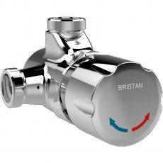 Bristan Timed Flow Temperature Adjustable Manual Shower Valve - Chrome
