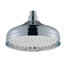 Bristan Traditional Fixed Shower Head, 200mm Diameter, Chrome
