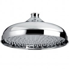 Bristan Traditional Fixed Shower Head, 300mm Diameter, Chrome