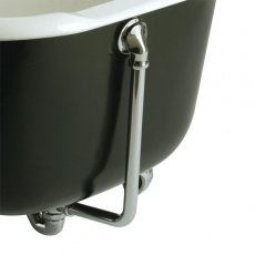 Bristan Traditional Exposed Bath Waste, with Overflow, Chrome