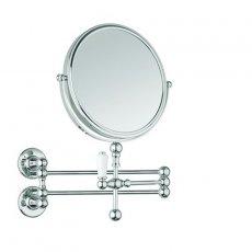 Burlington Cosmetic Wall Mirror - Chrome