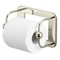 Burlington Traditional Toilet Roll Holder Wall Mounted - Nickel