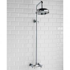 Cali Buxton Dual Exposed Mixer Shower with Fixed Head