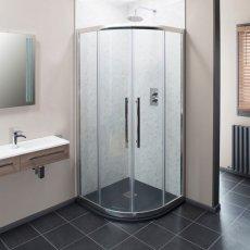 Cali Cass Eight Quadrant Shower Enclosure - 900mm x 900mm - 8mm Glass