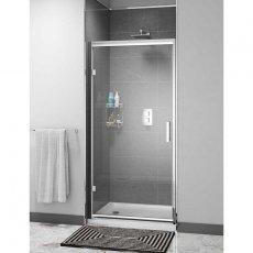 Cali Cass Six Hinged Shower Door 900mm Wide - 6mm Glass