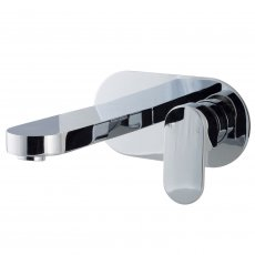 Cali Filo Wall Mounted Bath Filler Tap - Chrome