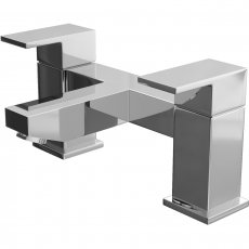 Cali Form Bath Filler Tap - Deck Mounted - Chrome