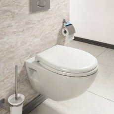 Cali Newton Wall Hung Toilet with Toilet Frame - Quick Release Seat
