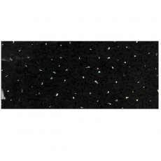 Cali Tongue and Groove Wet Wall Shower Panel 2400mm x 1000mm x 2 Panel Pack 10mm - Black Sparkle