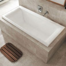 Carron Haiku Double Ended Rectangular Bath 1700mm x 800mm - Carronite