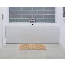 Carron Profile Double Ended Rectangular Bath 1600mm x 700mm - Carronite