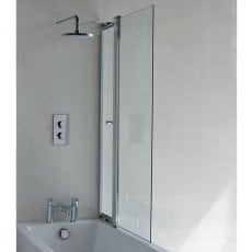 Cleargreen Bathscreen with Access Panel 1450mm x 850mm - 6mm Glass