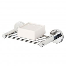 Coram Boston Modern Soap Holder - Chrome