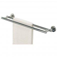 Coram Boston Double Towel Bar, Chrome