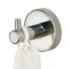 Coram Boston Modern Robe Hook - Chrome