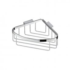 Coram Boston Shower Corner Basket with Concealed Fixing - Chrome