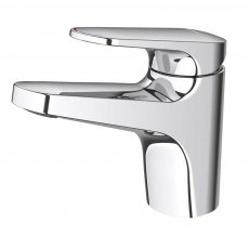 Deva Kaha Mono Basin Mixer Tap with Swivel Spout - Chrome