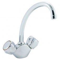 Deva Profile Contract Mono Kitchen Sink Mixer Tap, Chrome