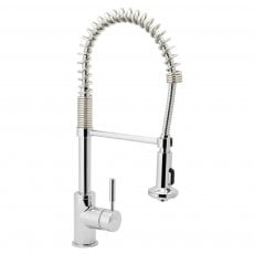 Deva Slinky Mono Kitchen Sink Mixer Tap, Chrome