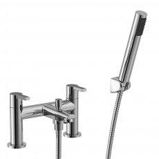 Duchy Dawn Bath Shower Mixer Tap Deck Mounted - Chrome