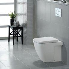 Duchy Fuchsia Back to Wall Toilet 550mm Projection - Soft Close Seat