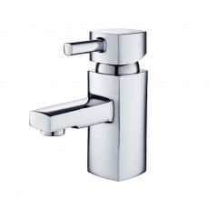 Duchy Holborn Mono Basin Mixer Tap with Click Clack Waste - Chrome