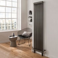 EcoRad Legacy 3 Column Radiator 1802mm High x 609mm Wide 13 Sections - Lacquer