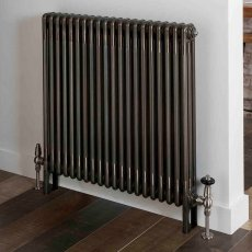 EcoRad Legacy 3 column Radiator 602mm High x 834mm Wide 18 Sections - Lacquer