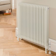 EcoRad Legacy 4 Column Radiator 502mm High x 1194mm Wide 26 Sections - White