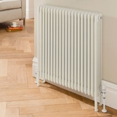 EcoRad Legacy 4 Column Radiator 302mm High x 1419mm Wide 31 Sections - White