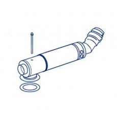 Firebird Low Level Flue Kit 200-280mm Long (150mm Diameter)