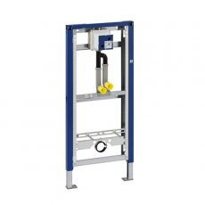 Geberit Duofix Frame for Urinal With Pipe Interrupter, 1300mm x 500mm, Blue