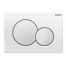 Geberit Sigma01 Dual Flush Plate - White Alpine