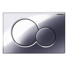 Geberit Sigma01 Dual Flush Plate - Gloss Chrome